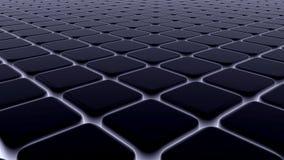 De abstracte achtergrond van 3d blokken, kubussen, 3d doos, geeft terug Royalty-vrije Stock Afbeelding