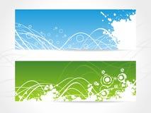 De abstracte Achtergrond van de Banner Stock Afbeeldingen