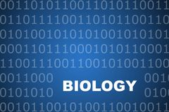 De Abstracte Achtergrond van de biologie vector illustratie