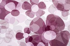 De abstracte Achtergrond van de Bloem stock foto's