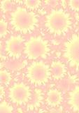 De abstracte achtergrond van de bloem stock illustratie