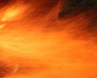 De abstracte achtergrond van de brand Royalty-vrije Stock Foto's