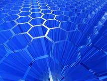 De abstracte achtergrond van de cel vector illustratie