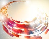 De abstracte Achtergrond van de Cirkel Stock Foto