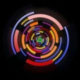 De abstracte achtergrond van de cirkel Royalty-vrije Stock Afbeelding