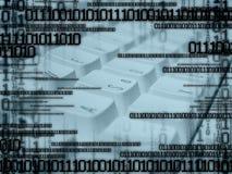De abstracte achtergrond van de computer royalty-vrije stock foto