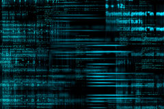 De abstracte achtergrond van de computercode Stock Fotografie
