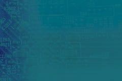 De abstracte achtergrond van de de lagunekleur van PCB blauwe Royalty-vrije Stock Afbeelding