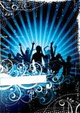 De abstracte Achtergrond van de Disco royalty-vrije illustratie