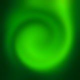 De abstracte achtergrond van de draaikolk groene aard Royalty-vrije Stock Afbeeldingen