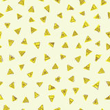 De abstracte achtergrond van de driehoek Stock Fotografie