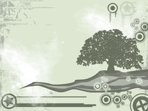 De abstracte achtergrond van de ecologie vector illustratie
