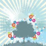 De abstracte achtergrond van de ecologie stock illustratie