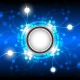 De abstracte achtergrond van de energieknoop Royalty-vrije Stock Foto