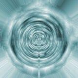 De abstracte achtergrond van de fantasie futuristische tunnel Royalty-vrije Stock Fotografie