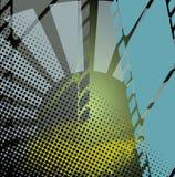 De abstracte Achtergrond van de Filmstrip Stock Afbeeldingen