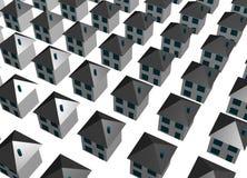 De abstracte Achtergrond van de Gebouwen van de Huisvesting vector illustratie