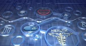 De abstracte achtergrond van de geneeskunde Royalty-vrije Stock Foto's