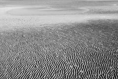 De abstracte Achtergrond van de Golven van het Zand Stock Afbeelding