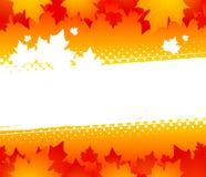 De abstracte achtergrond van de herfst Royalty-vrije Illustratie