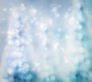 De Abstracte Achtergrond van de kerstboom Stock Afbeeldingen