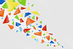 De abstracte achtergrond van de kleur Stock Afbeelding