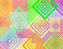 De abstracte achtergrond van de kleur. Stock Fotografie
