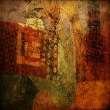 De abstracte achtergrond van de kunst grunge royalty-vrije illustratie