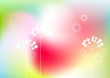 De abstracte achtergrond van de lente Royalty-vrije Stock Afbeeldingen