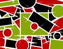 De abstracte Achtergrond van de Lijnen van Vormen royalty-vrije illustratie