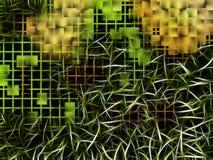 De abstracte achtergrond van de mengelingschaos. Stock Foto