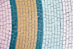 De abstracte achtergrond van de mozaïektegel Stock Foto's