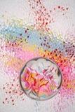 De Abstracte Achtergrond van de pastelkleur Stock Foto's