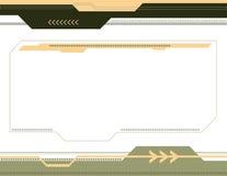 De abstracte Achtergrond van de Pijl Royalty-vrije Stock Afbeelding