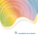 De abstracte Achtergrond van de Regenboog stock illustratie