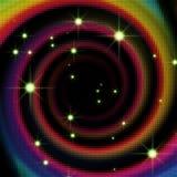 De abstracte achtergrond van de regenboog Stock Fotografie