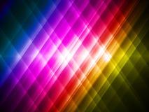 De abstracte achtergrond van de regenboog Stock Afbeeldingen