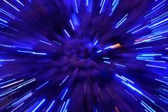 De abstracte achtergrond van de snelheidstechnologie Stock Afbeeldingen