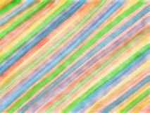 De abstracte achtergrond van de strookwaterverf Royalty-vrije Stock Fotografie