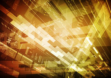 De abstracte Achtergrond van de Technologie Stock Afbeeldingen