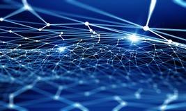 De abstracte Achtergrond van de Technologie Stock Afbeelding