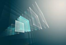 De abstracte Achtergrond van de Technologie Royalty-vrije Stock Foto's