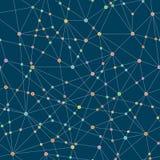 De abstracte Achtergrond van de Technologie Naadloos patroon Stock Foto's