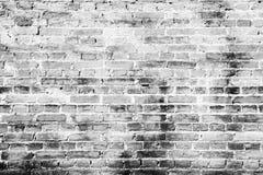 De abstracte achtergrond van de textuur oude grijze en witte bakstenen muur archit stock foto