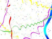 De abstracte achtergrond van de vakantiewimpel vector illustratie