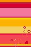 De abstracte achtergrond van de Valentijnskaart `s royalty-vrije illustratie