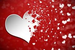 De Abstracte Achtergrond van de valentijnskaartendag stock illustratie