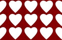 De abstracte achtergrond van de valentijnskaartendag met hartvorm Royalty-vrije Stock Foto's