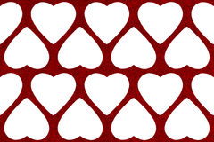 De abstracte achtergrond van de valentijnskaartendag met hartvorm Stock Afbeeldingen