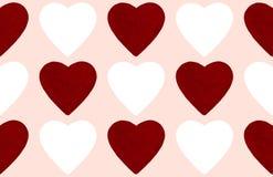 De abstracte achtergrond van de valentijnskaartendag met hartvorm Royalty-vrije Stock Afbeelding